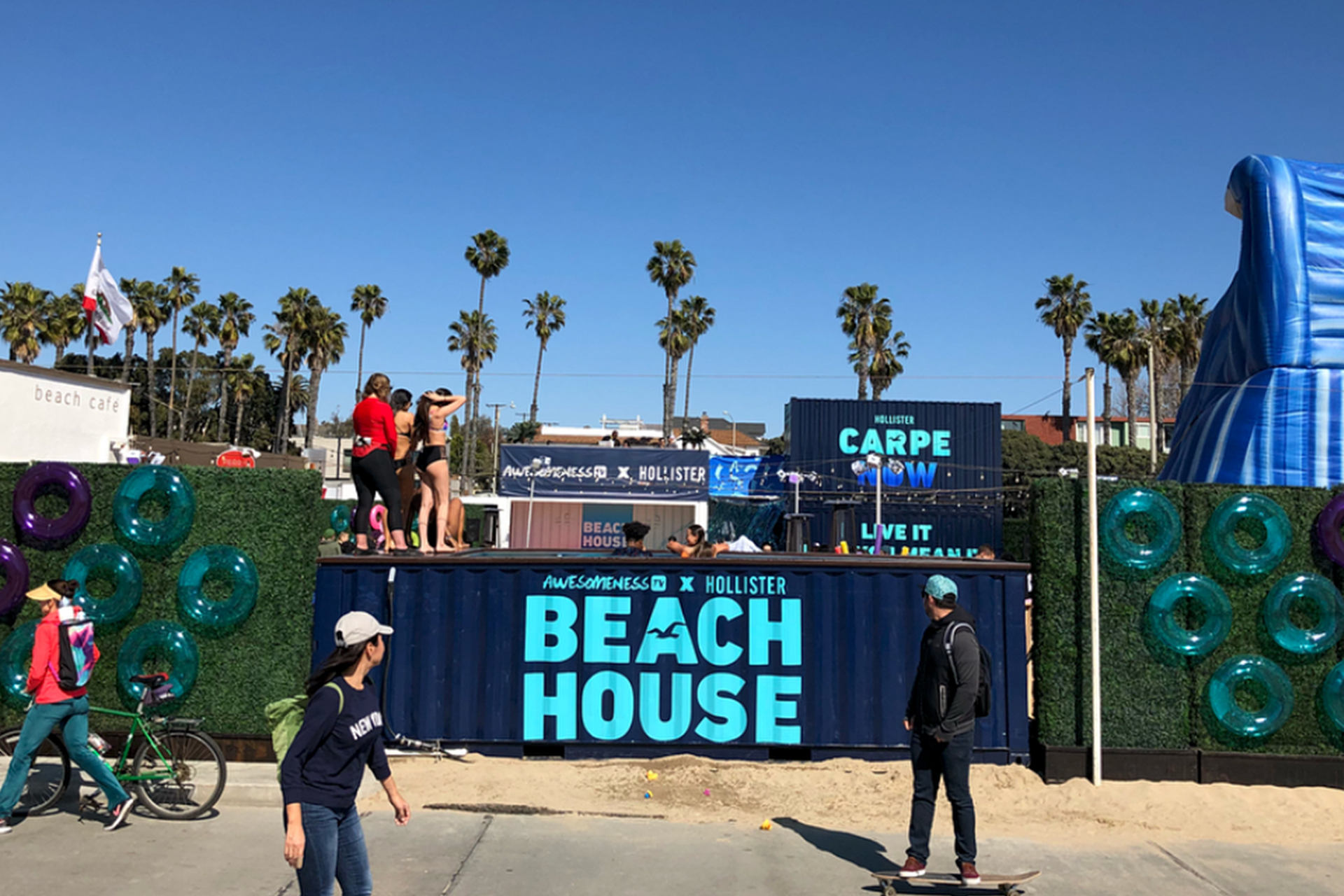 Hollister X AwesomenessTV Beach House